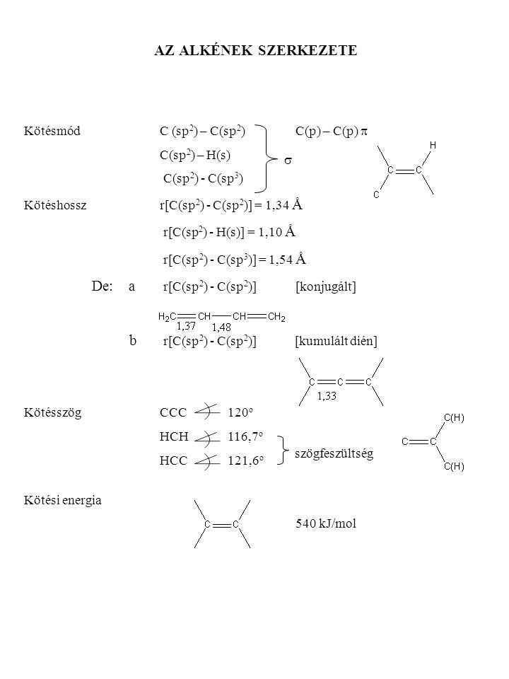 De: a r[C(sp2) - C(sp2)] [konjugált]